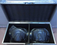 Wholesale Flight Case with pieces HOT W LED Spot Moving Head Light USA Luminums W LED DJ Spot Light