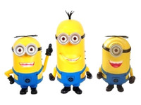 Wholesale Cheap Price Retail New Despicable Me Minions Speaker Portable Mini Speaker with Micro SD card Slot and FM Radio Computer speakers