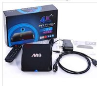 Wholesale M8 Jewel quad core Amlogic S802 Android Internet TV set top boxes G G