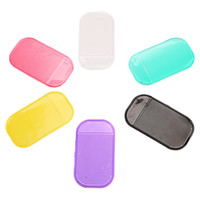 anti slip pad price - Price Silicone New Car Dashboard Strong Sticky Pad for Mobile Phone mp3 mp4 Pad GPS Anti Slip Car Sticky Anti Slip Mat Free Ship