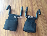 belts bodybuilding - Power Double Hooks Weight Lifting Hook Bodybuilding Wrist Straps Support Chin Up Bar Strength Training