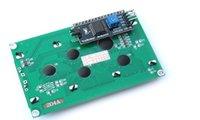 Wholesale IIC I2C x Character LCD Display Module Blue free drop shipping