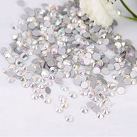 ab pack - New SS12 mm Size AB Color Swarovski Crystal Hot Fix pack Nail Art Decoration Rhinestone Daimond Beauty Fashion