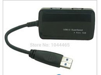Wholesale USB Port Hub Bus Powered for Laptops Ultrabooks and Tablet Support Windows Vista XP Mac OS X