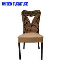 Wholesale heart shaped furniture Europe style no folding furniture iron diningl chair office meeting room chair colors available