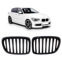 Wholesale Matt Black Front Grilles For BMW M E81 E82 E87 LCI E88 I I I I I order lt no track