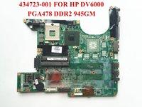 madre del computer portatile per la scheda madre originale HP DV6000 434.723-001 434.725-001 PGA478G DDR2 945GM Completamente provato ed il trasporto libero