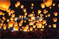 Wholesale 3000pcs oval shap Sky Lanterns Wishing Lamp CHINESE LANTERNS BIRTHDAY WEDDING PARTY in stock HR341