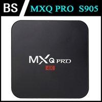 Wholesale S905 MXQ Pro Android Amlogic S905 TV Box Quad Core GB GB Bluetooth HDMI WIFI K P HD XBMC Kodi Media Player
