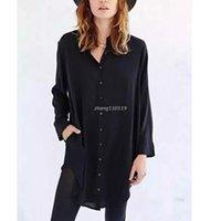 b squared clothing - 2016 New Women Blouses Casual Loose Women Shirts Femininas Blusa Fashion Women Long Blouse Plus Size Ladies Clothing BM C1876 B