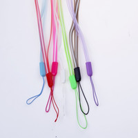 Wholesale Universal Key Chain Necklace Clear Colorful Lanyard Mobile Phone Strap ID Badge Cellular Phone Neck Straps