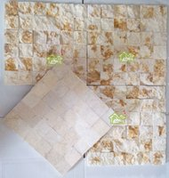 Wholesale Factory Outlet marble tile section three dimensional convex culture stone TV backdrop interior