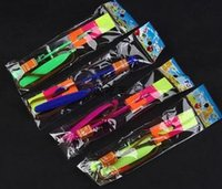 light up products - 100pcs Amazing arrow helicopter light up flying arrow new product new toy lowest price flying arrow Rubber band shot an arrow HY572