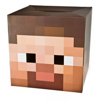 Wholesale quot New Arrivals quot Minecraft Steve Box head Mask Headgear Best Quality in stock Same Day