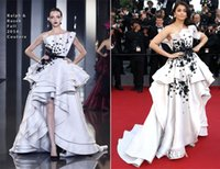 aishwarya rai - Aishwarya Rai the th annual Cannes Film Festival Evening Dress Prom Gowns Applique Hi Lo Pageant Gowns Exquisite New Exquisite