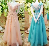 short corset dresses for prom - 2014 Elie Saab Long Prom Dresses For Occasion Sale Cheap Lace up Corset Blush Blue Tulle Arabic Luxury Crystals Party Evening Gowns