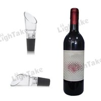 Wholesale Deluxe Essential Red Wine pourer wine Aerator Magic Decanter New