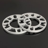 aluminum shims - 2X UNIVERSAL MM ALLOY ALUMINUM WHEEL SPACERS SHIMS PLATE STUD FIT FOR VW