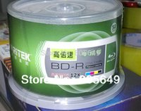 Wholesale 10 Pack RITEK BD R X GB BDR Disc Printable Blue ray BD R x speed Blank disc Good as Verbatim Printable DVD DL