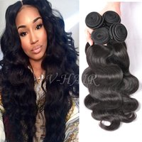 Wholesale Grade A Unprocessed Virgin Hair Body Wave Raw Indian Peruvian Malaysian Brazilain Body Wave Human Hair Weaves