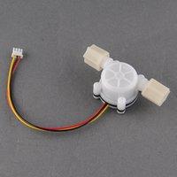 Wholesale New Water Flow Sensor Switch Meter Counter Hall Sensor Flowmeter L min