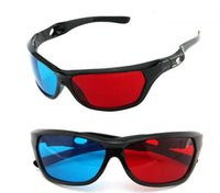 adult dvd - IMVATION New Arrival Red Blue D Glasses For Dimensional Anaglyph Movie Game DVD D Movie Game
