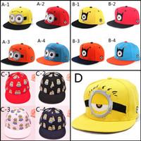 Cheap despicable me Snapback Hats Best Minions Baseball Caps