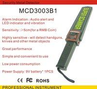 Wholesale Portable Handheld Industrial Metal Detectors Professional Super Scanner Tool Finder for Security Checking Sound LED Vibration