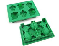 Wholesale 20 set Star Wars Ice Tray Silicone Mold Ice Cube Tray Chocolate Fondant Mold Death Star X Wing Funny Candy Bake Maker