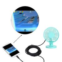 Wholesale KKmoon Mini Digital USB Endoscope Inspection camaras de seguridad Adjustable Brightness endoscopio for Android Phones PC