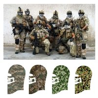 balaclava camo - COOL Military Camo Skeleton Face Mask NEW Mens Tactical Camouflage Facemasks Balaclava Skull Masks