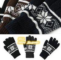 Wholesale 2014 New Fashion durable Feel good Soft Unisex Knit Wrist Gloves Brand Newst Winter Warm Gloves