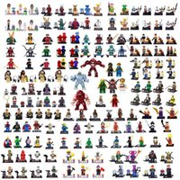 Wholesale 2015 NEW Marvel Super Heroes Star Wars Movie Ninjago TMNT Figures Bricks Building Blocks Minifigures Bricks Toys for Children A2
