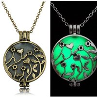 vintage jewelry - Vintage Silver Censer Aromatherapy Jewelry Essential Oil Diffuser Locket Pendant Necklaces For Women Jewlery
