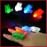 Wholesale Chistmas Gift LED Bright Finger Ring Lights Glow LED fingers toys led finger light color finger lamp light for Chistmas decoration toy