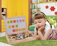 baby toys brands - Brand New Puzzles Baby Toy Animals Letters Puzzle Toys For Children Wood Educational Toys D Magnetic Wooden Drawing Board SV014483