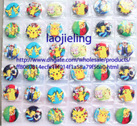 asian backpacks - New arrival Pikachu badges Cartoon Backpack Decoration Clothing Accessories Pin Badge MM