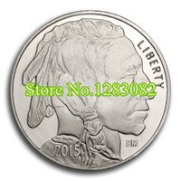 american buffalo coin - of Non Magnetic American Indian Buffalo Troy Oz Silver Plated Coins brass plated silver Non Magnetic coin