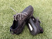 Cheap High-End Kanye West Yeezy Shoes 350 Boosts Oxford Tan For Men Women Red Octobers Moonrock Yeezy Season Turtle Dove Shoes Sports Sneakers