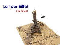 Wholesale 5 Retro Bronze Paris Eiffel Tower Figurine Statue Vintage Model Decoration