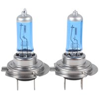 100 halogen light - Hot Sale pair of H7 W Super White K Xenon car Halogen light bulb lamp Vihicle car Headlight CEC_485