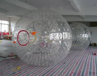 Cheap free shipping Inflatable Zorb Ball, inflatable touch ball,bubble football zorb Crazy giant human hamster ball