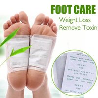 Wholesale 20 pieces Adhesives Detox Foot Patch Bamboo Pads Patches With Adhesive Improve Sleep Beauty Slimming Patch