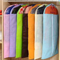 Wholesale Clothes Suit Dress Garment Dustproof Cover Bag Storage Bags Thicken Bag Housekeeping New Arrival
