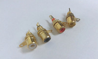 metal panel - RCA Phono Chassis Panel Mount Female Socket Metal adapter Gold plated