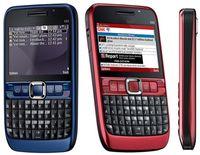 Wholesale 1pcs black red blue Original mobile phone E63 Mobile Phone G Wifi GPS MP Refurbished Unlocked E Series Smartphone cell phone