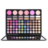 bead palette - 2016 hot sale Color Eye Shadow Tray Earth Color Inferior Smooth Bead Light Naked Makeup Eyeshadow Palette for dhl shipping