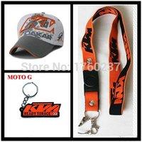 active key ring - 2015 The Official KTM cap summer baseball cap gorra hip hop hat motocross racing cap KTM phone lanyard KTM key ring