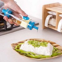 Wholesale BBQ Cooking Olive Bottle Oil Sprayer Dispenser Pourer Container Bottle Kitchen Accessories