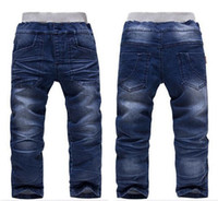 Wholesale new Retail Latest Boys Autumn Spring Casual Jeans Children Fashion Hot Selling Denim Pants Baby wear trousers